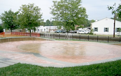 Robertson Fountain, Orange VA