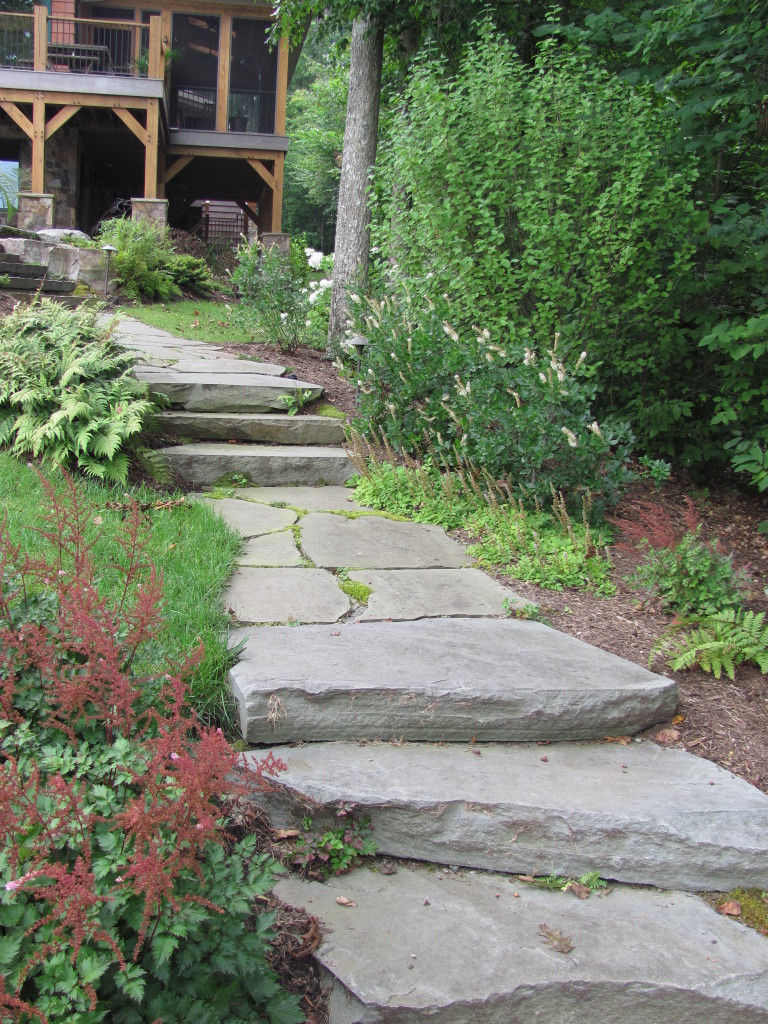 stone pathway residential