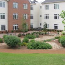 Dogwood Village: Healing garden completed