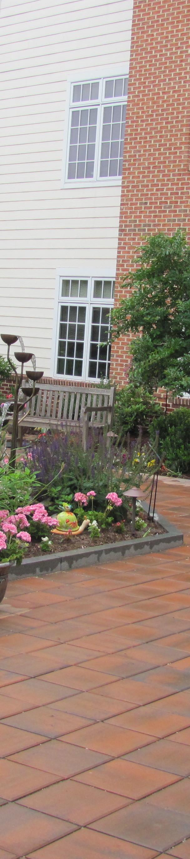 Dogwood Village Healing Garden: closer view