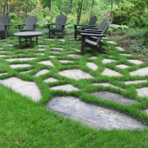 Stone garden retreat