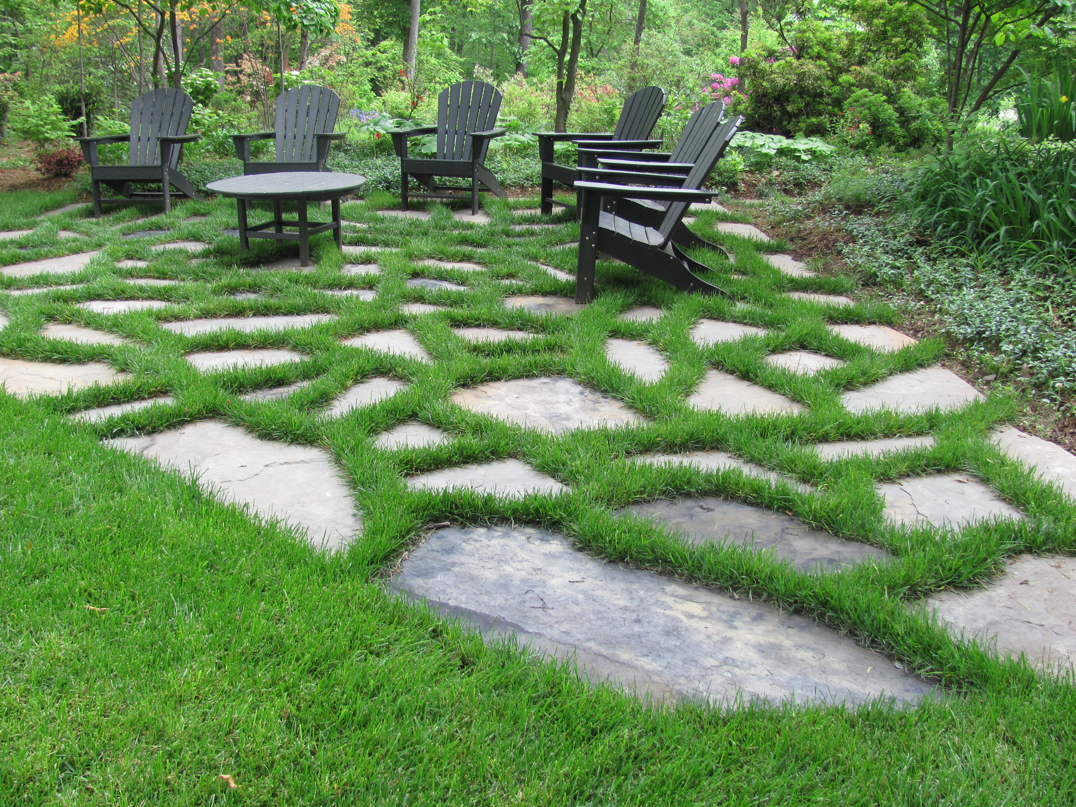 Charming Stone Garden Photos - Landscaping Ideas for Backyard ...